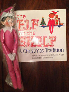 Elf on the shelf with soft cover book St. John's Newfoundland image 3