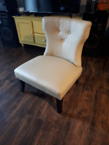 Occasional / Wingback Designer Chair For Sale