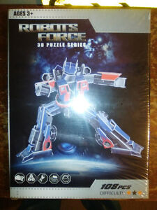 3D TRANSFORMER-TYPE PUZZLE, Brand New! London Ontario image 1