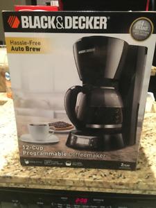 Brand New Black and Decker Coffee Maker