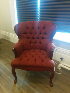 Beautiful Wing Back Chairs