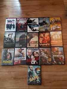 16 films dvd avec jason statham