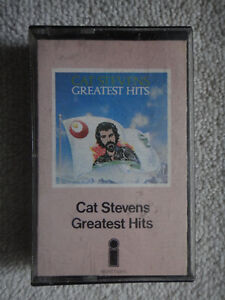 Cat Stevens Greatest Hits pre-recorded audio cassette tape