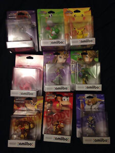 Small Amiibo lot
