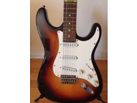 Shine - Stratocaster style guitar VGC - £40ono -or-swap for mountain bike or laptop