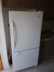 Four appliances (fridge, stove, washer, dryer)