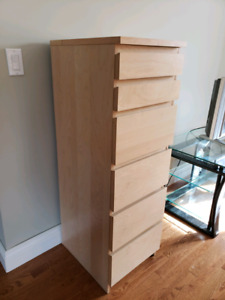 6 drawer chest MALM from Ikea