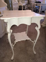 """Located at C'est La Vie"" Curvy accent/end table"