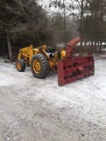 7' double auger snowblower for trade