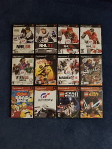 Sony PS2 Games...