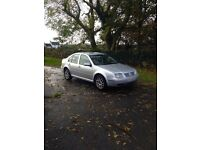 For parts only Bora 130Bhp 1.9tdi reflex silver