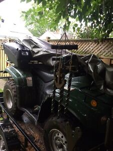 ATV for sale. Comes with plow & more  Cambridge Kitchener Area image 3