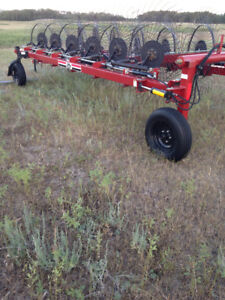 Jiffy 12 wheel hay rake for sale