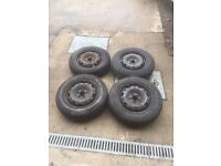 5x100 wheels fit skoda, golf, polos after 2001