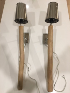 Two Wall Sconces