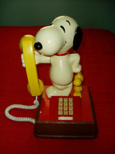 Snoopy & Woodstock Phone Rare