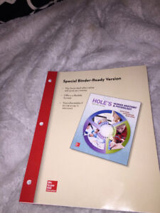 Hole's Anatomy and Physiology Textbook