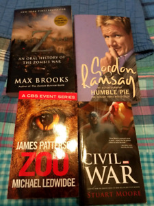 Softcover book lot