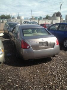Parting out 2004 Nissan maxima fully loaded