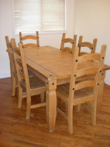 Pier One Imports  Dining Table and 6 Chairs