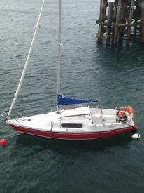 Sailing boat yacht - Pandora 700