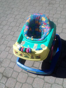 Graco Rock 'N Bounce Baby/Toddler Exercise Toy/Exersaucer (Used)