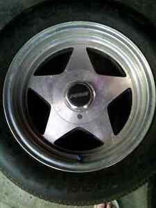 tires and rims, like new condition
