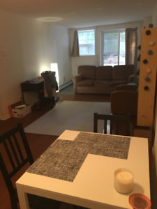 South end one bedroom apartment available Sept.  20