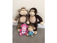 4 build a bear monkeys