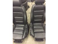 Audi A4 s line front seats with air bags ideal for transit