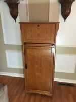 Wood Wine Cabinet Kitchen Hutch