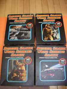 SET OF 4 BATTLESTAR GALACTICA PUZZLES GALACTICA, BOXY AND MUFFET London Ontario image 1