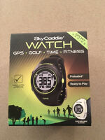 SkyCaddie GPS Golf and Fitness Watch Brand New - Flames Edition