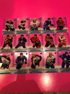 This is a complete set of 2018/19 Tim Hortons Clear Cut Phenoms