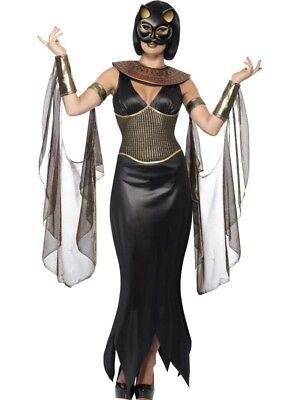 n Kostüm Halloween Katzenkostüm Ägypten Damen (ägyptische Katze Kostüm)
