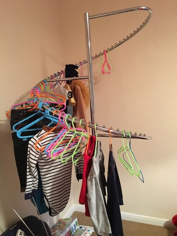 RR SPIRAL CLOTHES RAIL FUNKY FOR ADULTS OR KIDS in Oadby  : 86 from www.gumtree.com size 600 x 800 jpeg 64kB