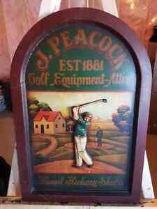 Golf Sign