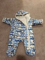 0-3 month fleece winter coverall