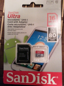 Micro sd brand new in package $15