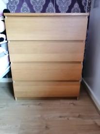Ikea malm drower chest