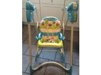 3 in 1 Fisher price swing n rock