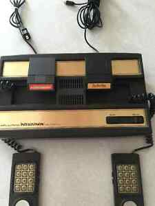 Mattel Intellivision System Console & 2 Games Model 2609