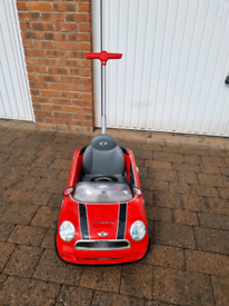 For sale Mini Cooper push buggy