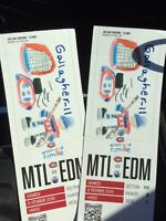 Montreal Hockey tickets for Febuary 6 game at 2 pm today