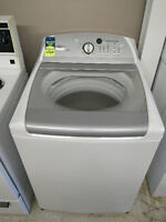 White Whirlpool Cabrio Glass Top Load Washer Only $450+HST!!!