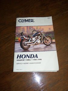 Clymer Service Manual for Honda Shadow
