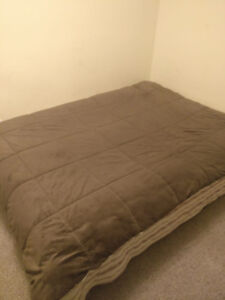 ikea bed frame with matress( Full)