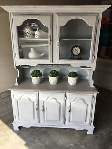Gorgeous French Country Inspired Hutch