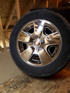 Chevy/gmc rims and tires