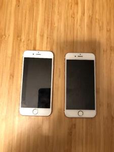 Iphone 6S 128G - 700$ pour les 2